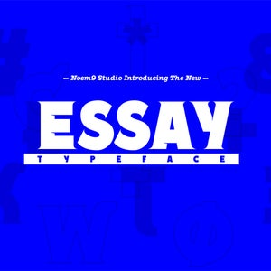 Image of Essay TYPEFACE
