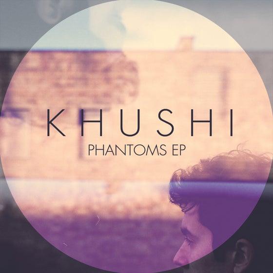 """Image of KHUSHI - """"Phantoms"""" EP // WHITE 10"""" Vinyl (MP3 CODE INSIDE)"""