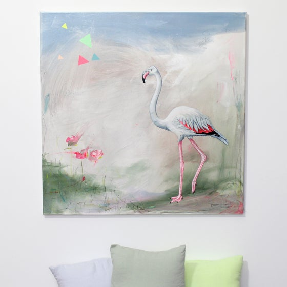 Image of Tableau {Flamingo}