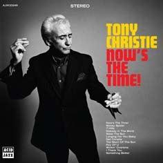 Image of Tony Christie - Now's The Time Album - Vinyl LP Album