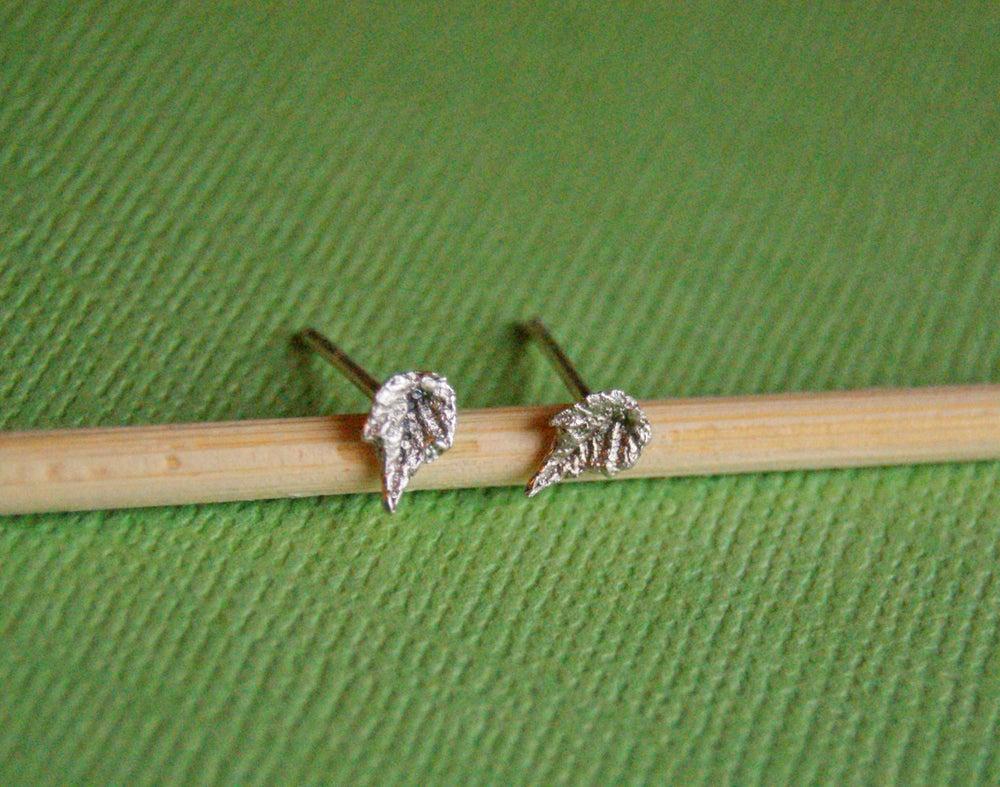 Image of Grape Leaf Post Earrings