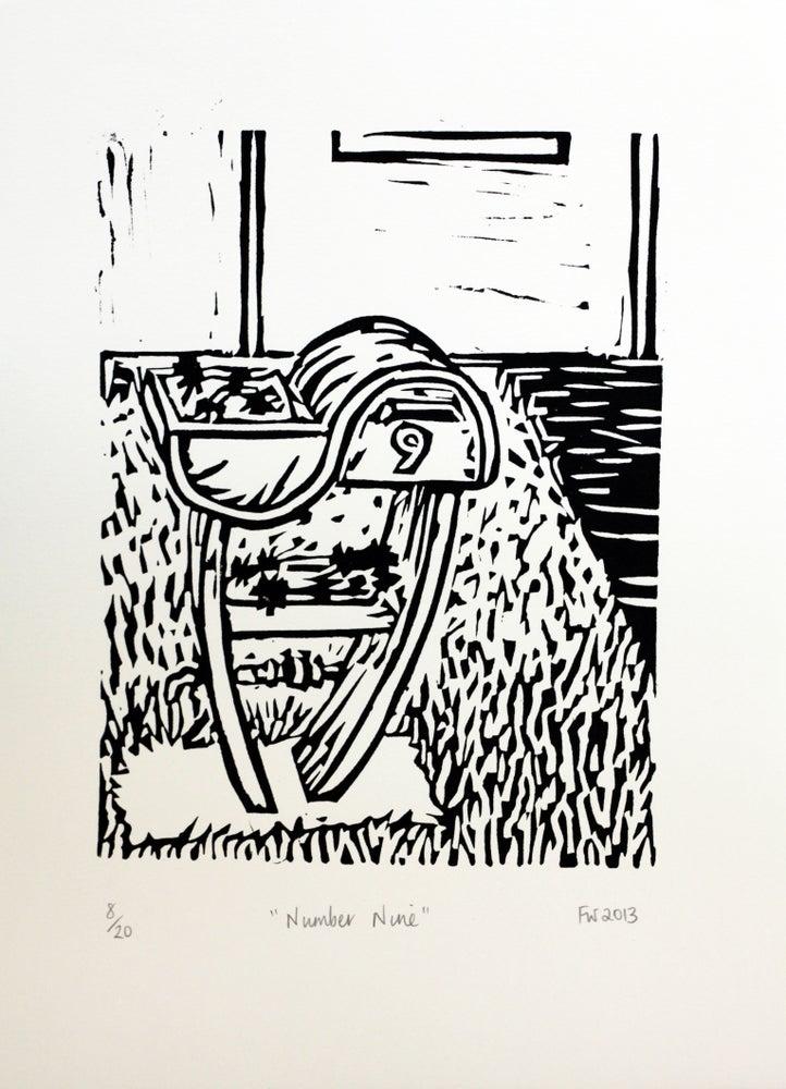 """Image of """"Number Nine""""  2013"""