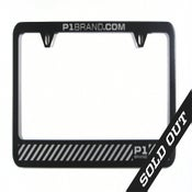 "Image of ""Barrier"" License Plate Frame (P1B-A0517)"