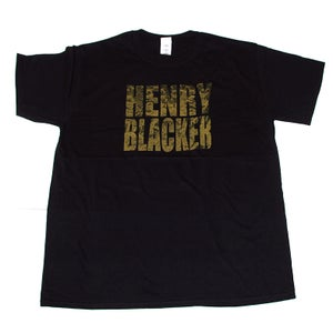 Image of HENRY BLACKER 'Logo' T-Shirt