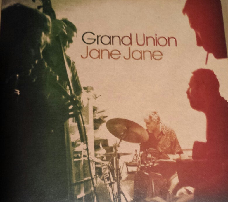 "Image of Grand Union - Jane Jane 10"" EP"