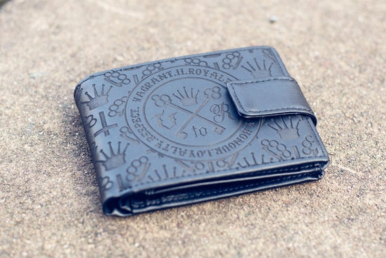 Image of All-Over Leather Wallet