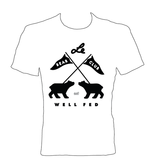 Image of BEAR CLUB x WELL FED ARTIST SOCIETY Shirt