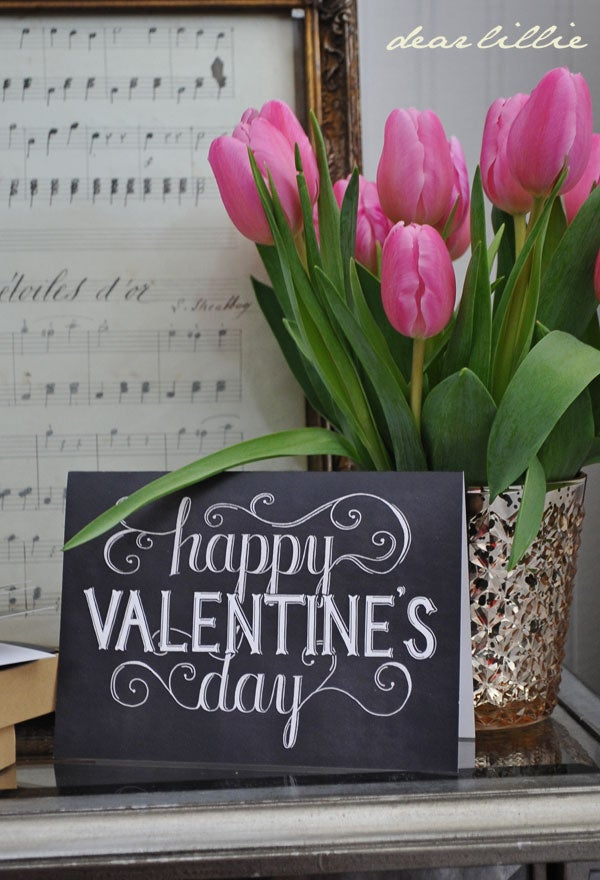 Image of Happy Valentine's Day Greeting Card Set
