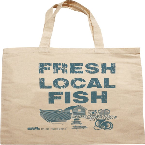 Image of Cotton tote - Fresh Local Fish