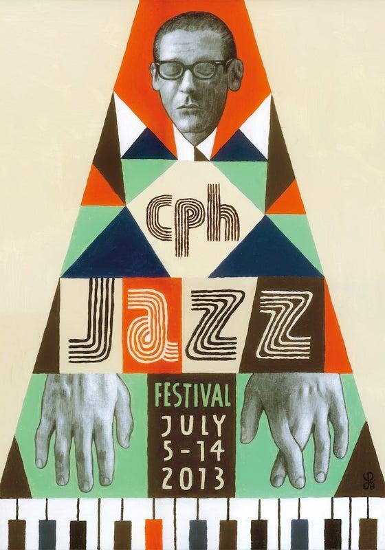 Image of Festival Poster - Copenhagen Jazz Festival 2013