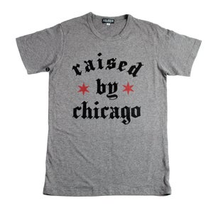 Image of Raised by Chicago (Heather TEE)