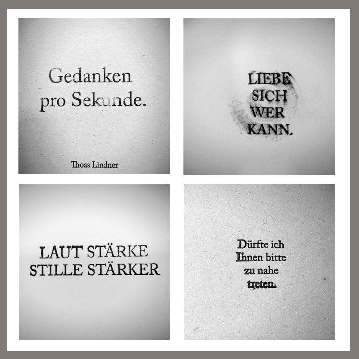 Image of Gedanken pro Sekunde   THOUGHTS/sec.