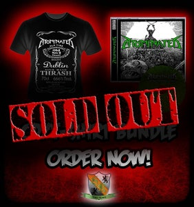 Image of Promo Tshirt / CD Bundle Pack - Limited Edition