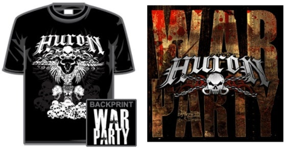 Image of WAR PARTY CD + T-SHIRT SPECIAL OFFER!