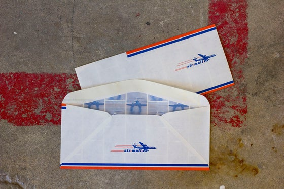 Image of Vintage Airmail Envelopes
