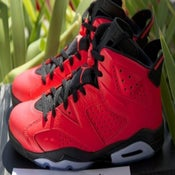 "Image of Air Jordan 6 ""Infrared ALL RED"""