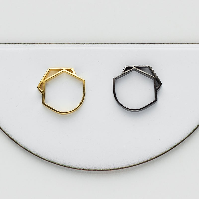 Image of WINNOW Pollux Midi Ring