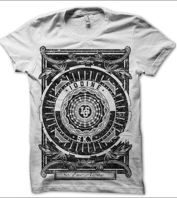 Image of Iodine Sky Tee (So Far Away design)