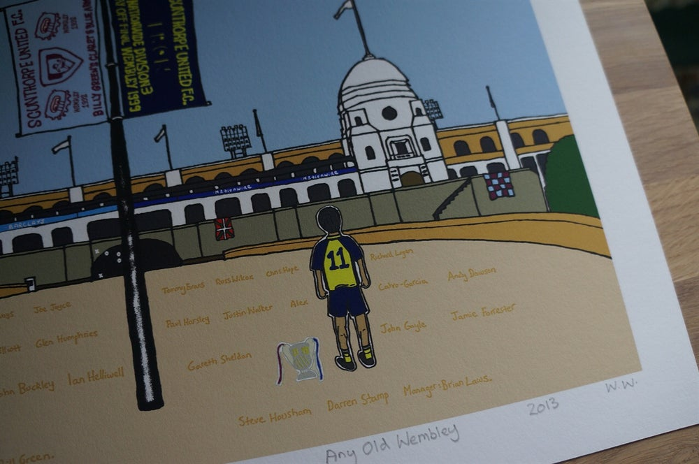 Image of 'Any Old Wembley' Art Print