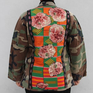 Image of HILL&VELEZ X LeROY JENKINS CAMO MILITARY SHIRT/JACKET 2