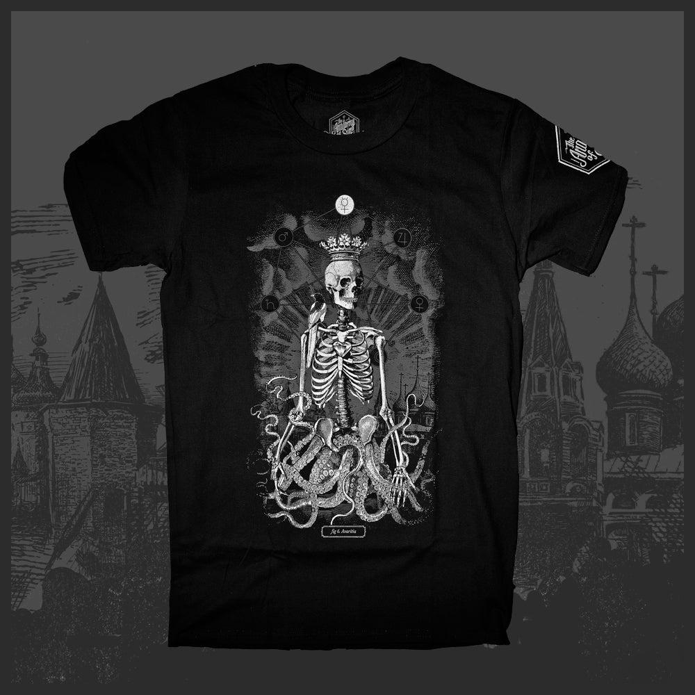 Image of Anatomy of Sin: 6. Avaritia T-Shirt