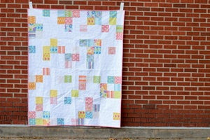 Image of Lazy Daisy Quilt PAPER Pattern
