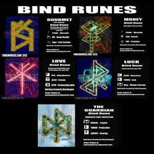 Image of Pocket Bind Rune Set