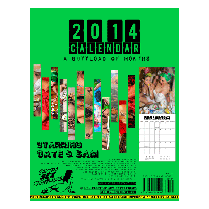 Image of A Buttload of Months 2014 Wall Calendar