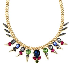 Image of Multi Gemstone Chain Necklace, SW211