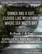 Image of Clouds Like Mountains @ KUPPAJOE 1/31
