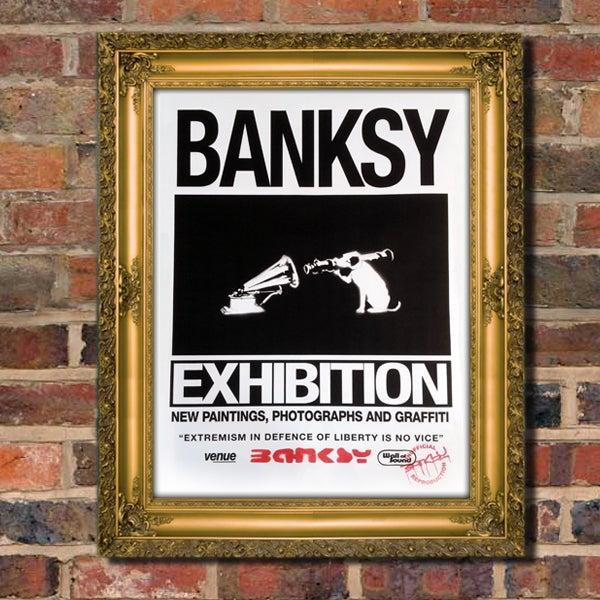 Image of BANKSY SEVERNSHED EXHIBITION POSTER