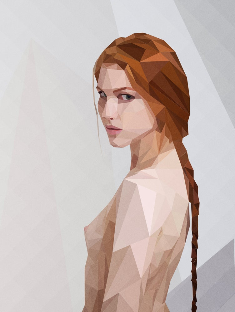 Image of Girl too - Aluminium Dibond Printing