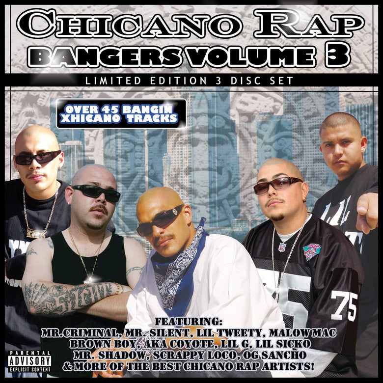 Image of Chicano Rap Bangers Volume 3