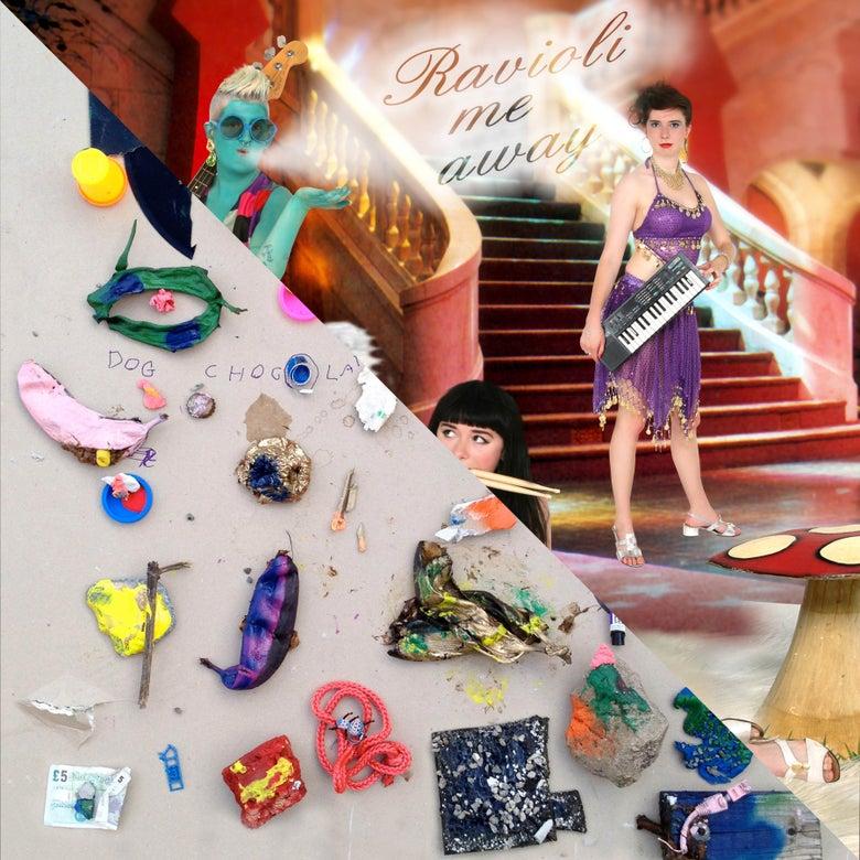 Image of DOG CHOCOLATE / RAVIOLI ME AWAY LP