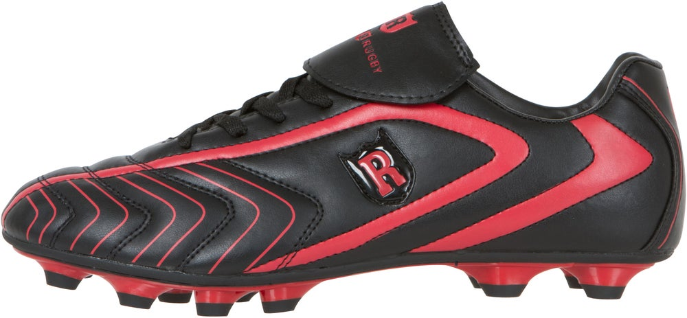 Image of Rugger Series Rugby Boot Black/Red