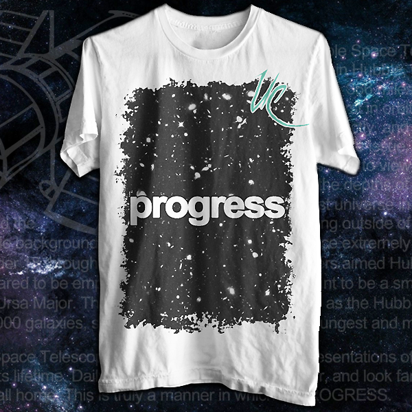 Image of PROGRESS || Men's White Tee