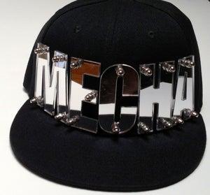 """Image of """"MECHA"""" Fully Bolted Black Snapback"""