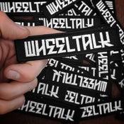 Image of Wheel Talk Logo Patch