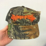 Image of white trash cap