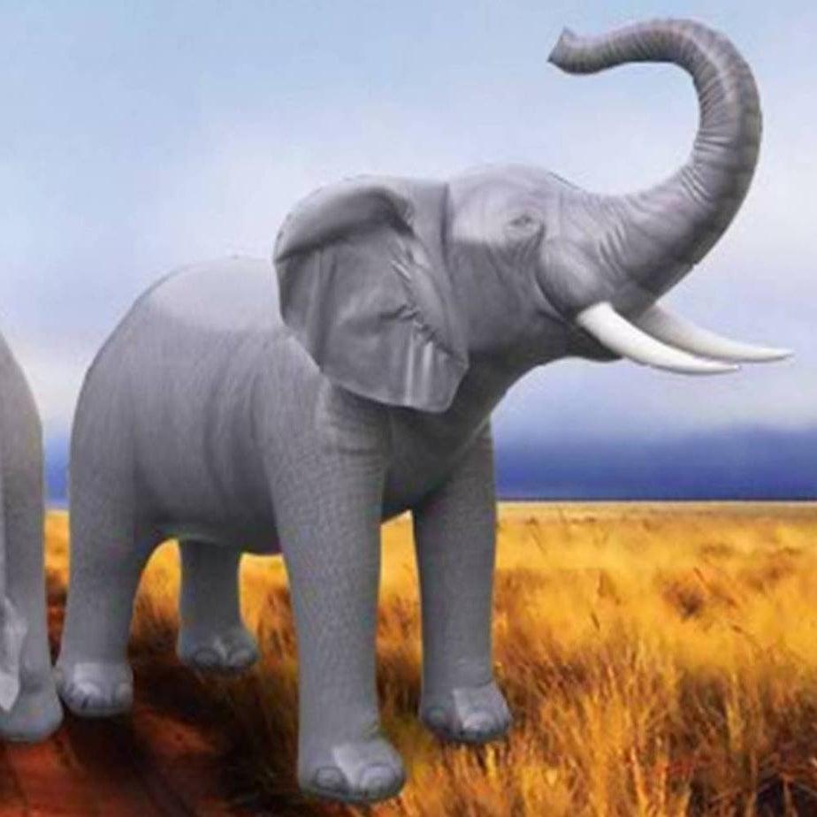 Inflatable Animals Lifesize Inflatable Elephant 7 H