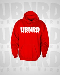 Image of Urban Nerd ™ ACRONYM HOODIE (RED)