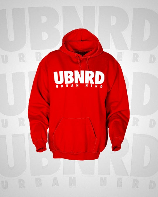 Image of Urban Nerd ™ HASHTAG HOODIE (RED)