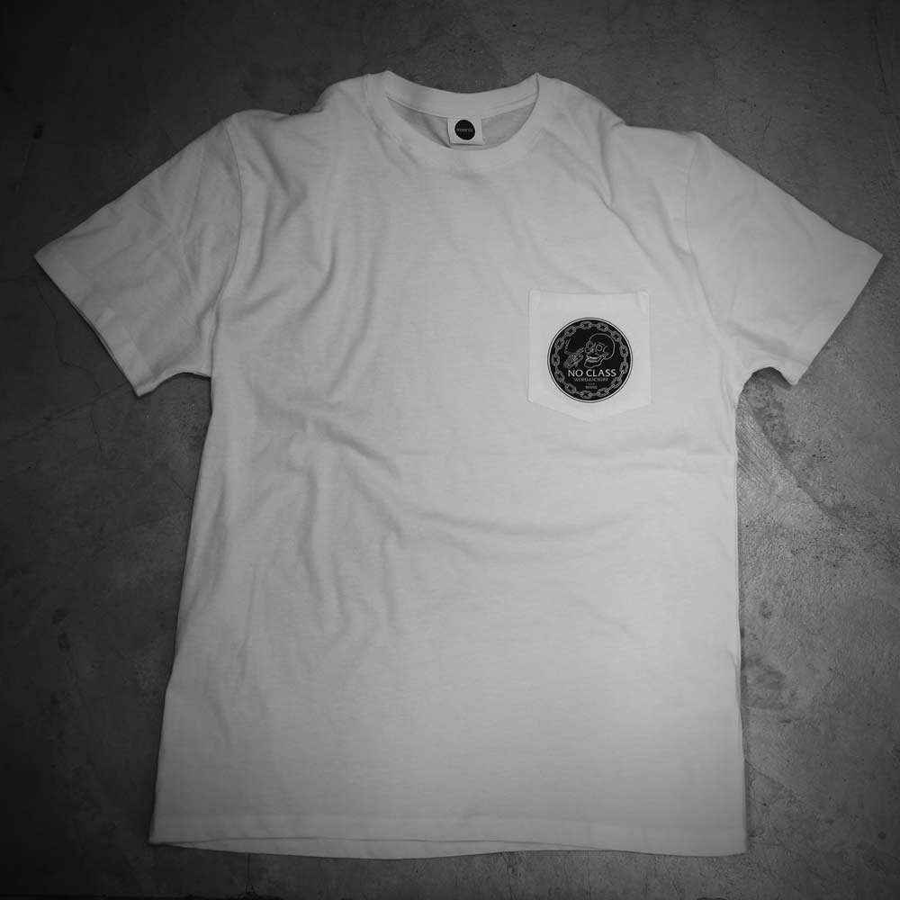 Image of WEIRD POCKET - WHITE TEE - NO CLASS