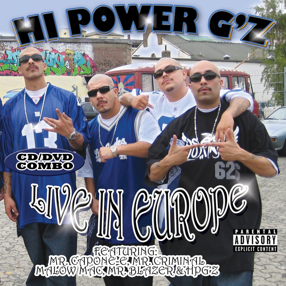Image of Hi-Power G'z: Live In Europe
