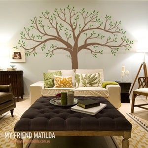 Image of NEW Large Family Tree Wall Decal Sticker