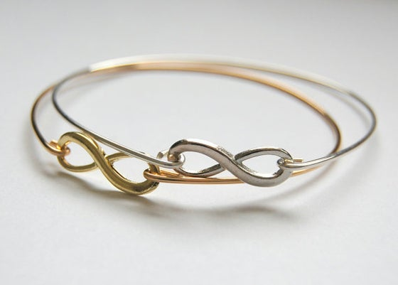 Image of Infinity Bangle Bracelet