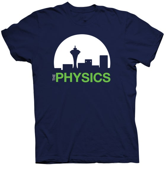 Image of The Physics Seahawks tee