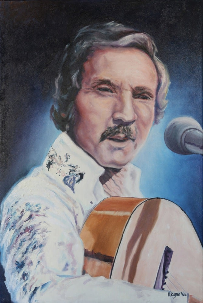 Image of MARTY ROBBINS • FINE ART PRINT