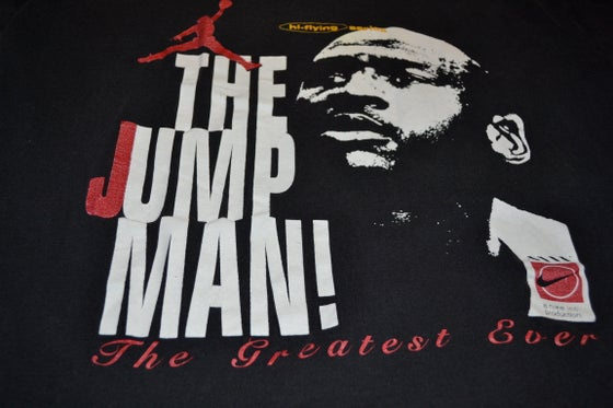 Image of VINTAGE NIKE AIR JORDAN T-SHIRT JUMPMAN