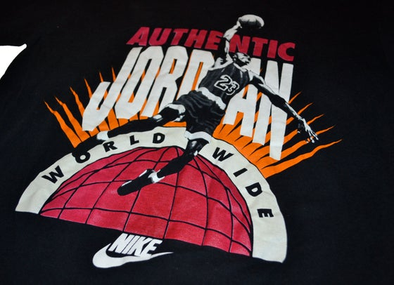 Image of VINTAGE NIKE AIR JORDAN T-SHIRT FLIGHT